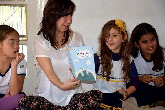 Leitura Corporal do livro Um Amigo Assim para Mim