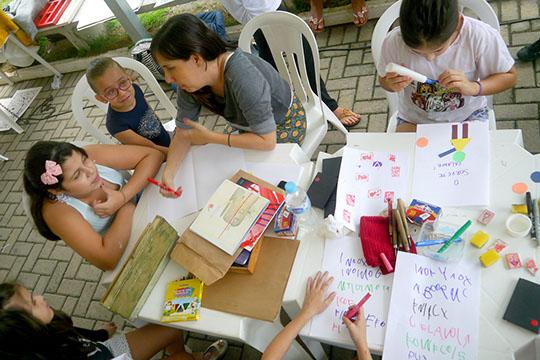 Workshop História Ilustrada na praça