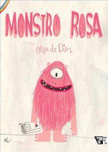 monstro rosa - capa