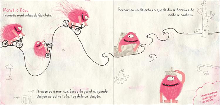 monstro rosa - miolo